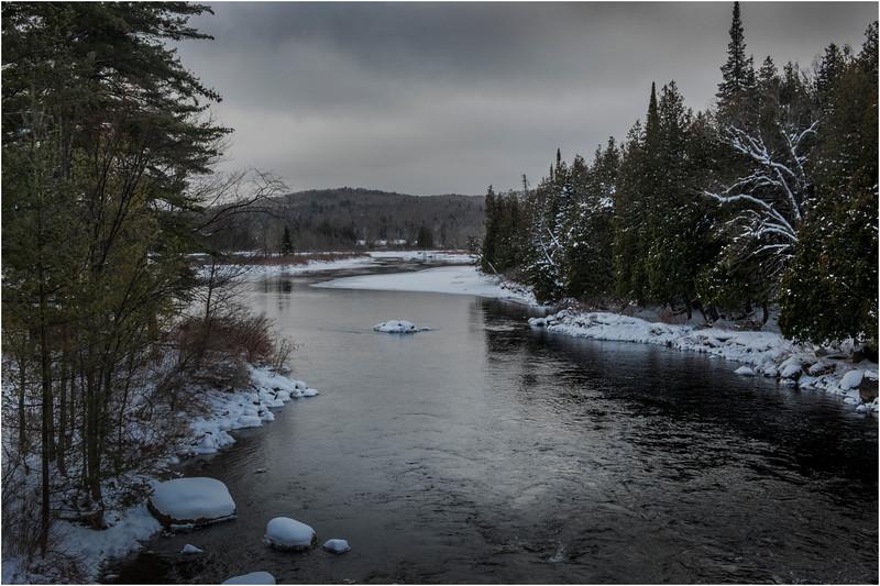 Adirondacks Newcomb Hudson River 6 March 2018