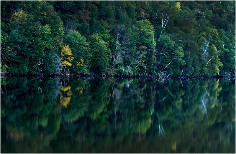Adirondacks Lower Cascade Lake September 2015 Shoreline 3