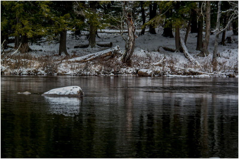 Adirondacks Forked Lake Raquette River 1 December 2016