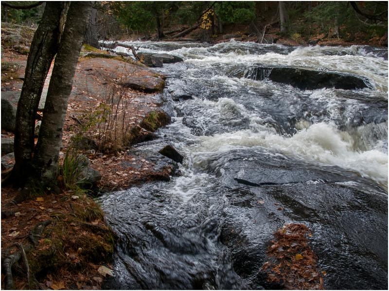 Adirondacks Raquette River Buttermilk Falls 1 October 2009