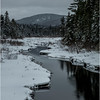 Adirondacks Grampus Lake Outlet 3 March 2018