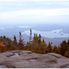 Middle Saranac Lake below with Upper Saranac Lake unfolding in the distance
