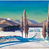 """Winter at Asgaard: Sally and Rockwell Kent Farm"" by Rockwell Kent"
