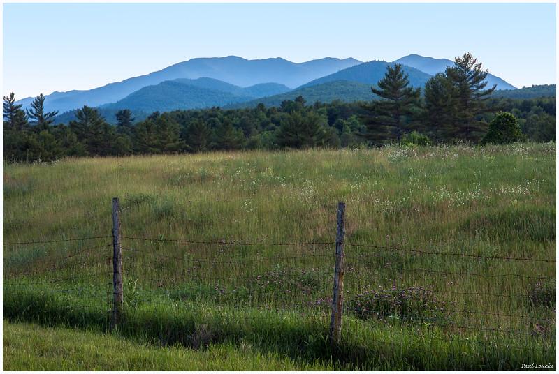 Jay Range, Adirondacks, Taken From Asgaard Farm