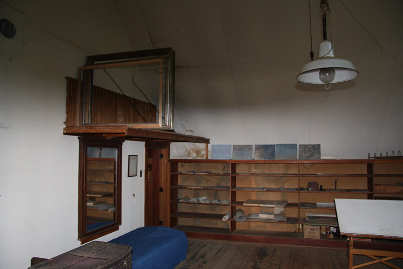 Storage Space in Rockwell Kent's Studio