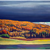 """Golden Fall"" by Rockwell Kent (1955)"