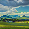 """Adirondack Farm - Summer"" by Rockwell Kent"