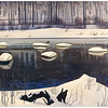 """Sable River Winter"" by Rockwell Kent"