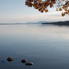 A view of Lake Champlain in the direction of Crown Point