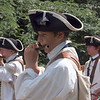 A French fife and drum unit on the march