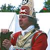 British grenadier at rest