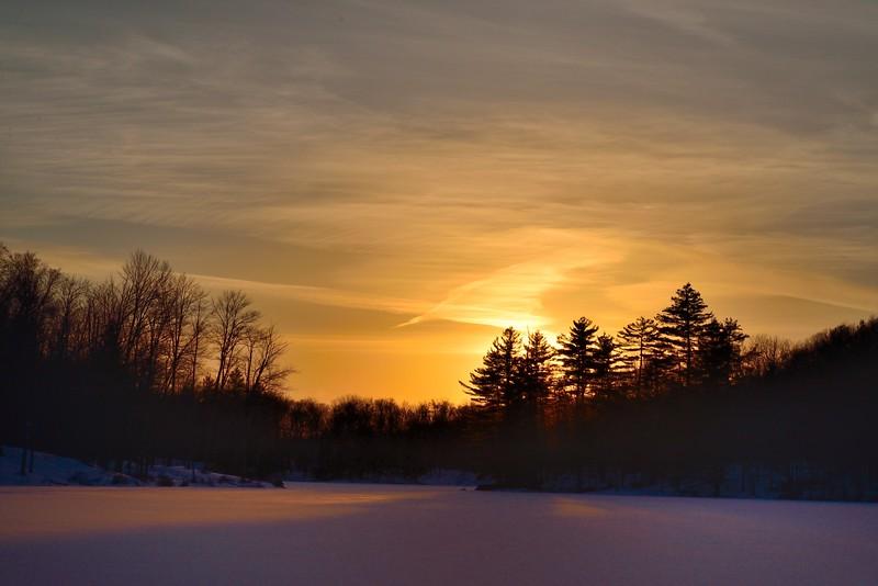 Sunset, Middle Settlement Lake