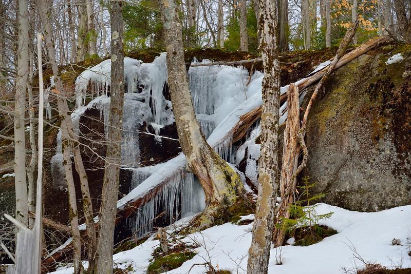 Icy Boulders