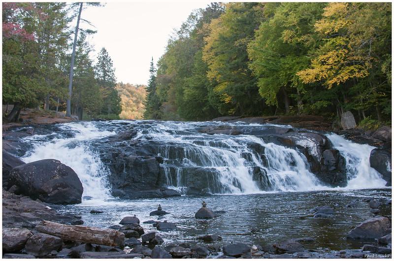 Buttermilk Falls on the Raquette River near Long Lake, NY