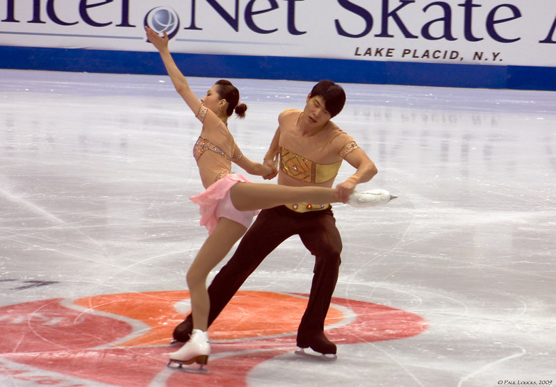 Pairs - Dan Zhang and Hao Zhang, China (Placed 3rd)