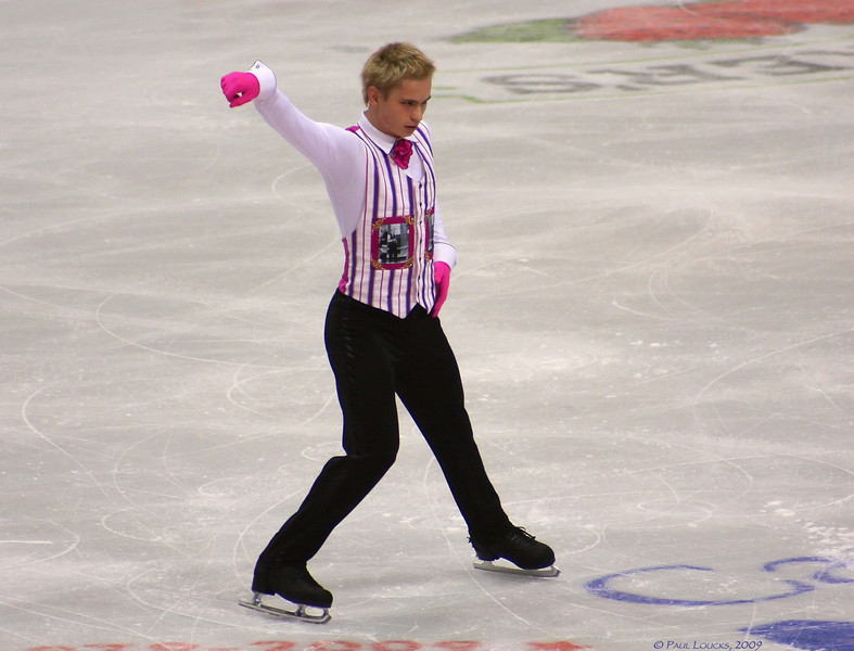 Andrei Lutai, Russia (Placed 10th)