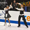 Ice dancers Alexandra Zaretski and Roman Zaretski -- Israel (placed 3rd)