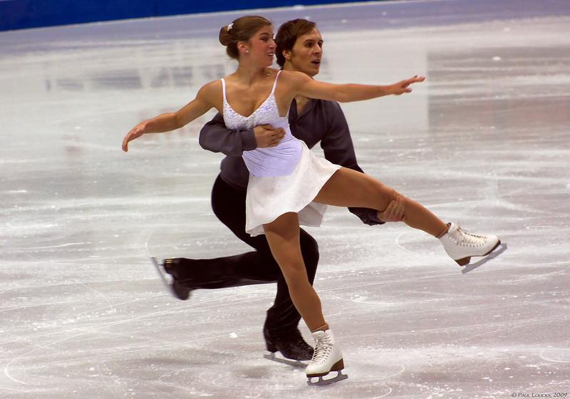 Brooke Castile and Benjamin Okolski