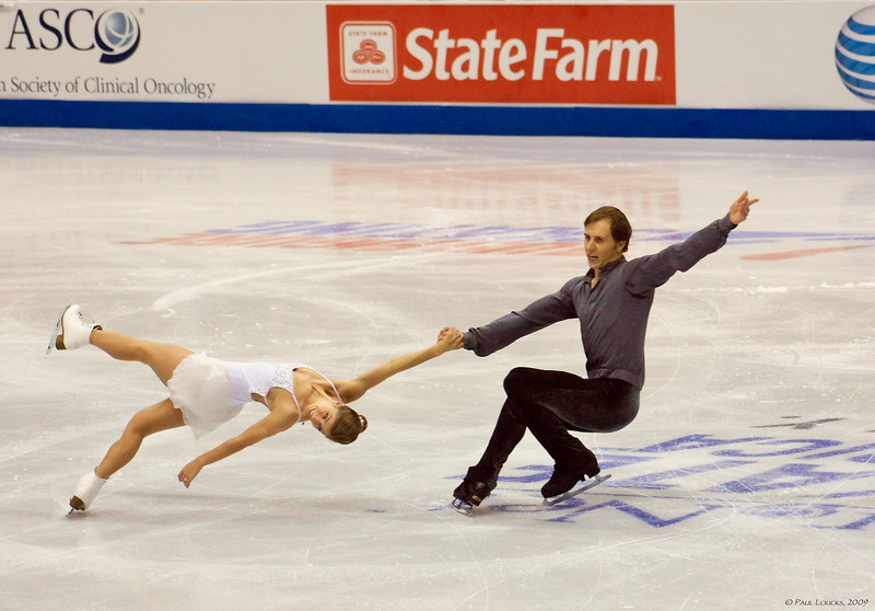 Pairs - Brooke Castile and Benjamin Okolski, USA (Placed 6th) 2007 US Champions