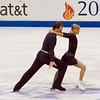Pairs - Tatiana Volosozhar and Stanislav Morozov, Ukraine (Placed 2nd)