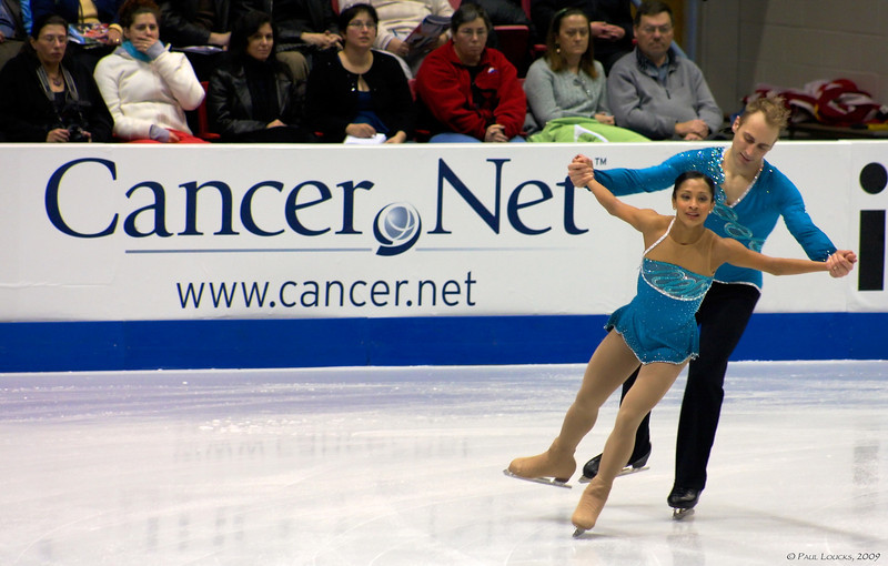 Pairs - Amanda Evora and Mark Ladwig, USA (Placed 5th) US Pewter Medalists