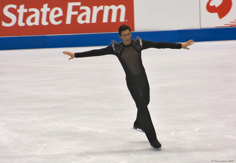 Evan Lysacek, USA (Placed 1st) 2009 World Champion, Two-time US champion