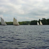 Annual regatta of Idem Class sailboats on Upper St. Regis Lake. They are unique to this particular Adirondack lake.