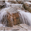 Mini-waterfalls near the bridge.