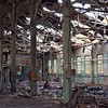 Gutted remains of the machine shop.