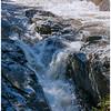 Final waterfall in the Wilmington Flume, Adirondacks.