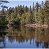 Great reflections on the West Branch of the Ausable River near Wilmington Notch in the Adirondacks.