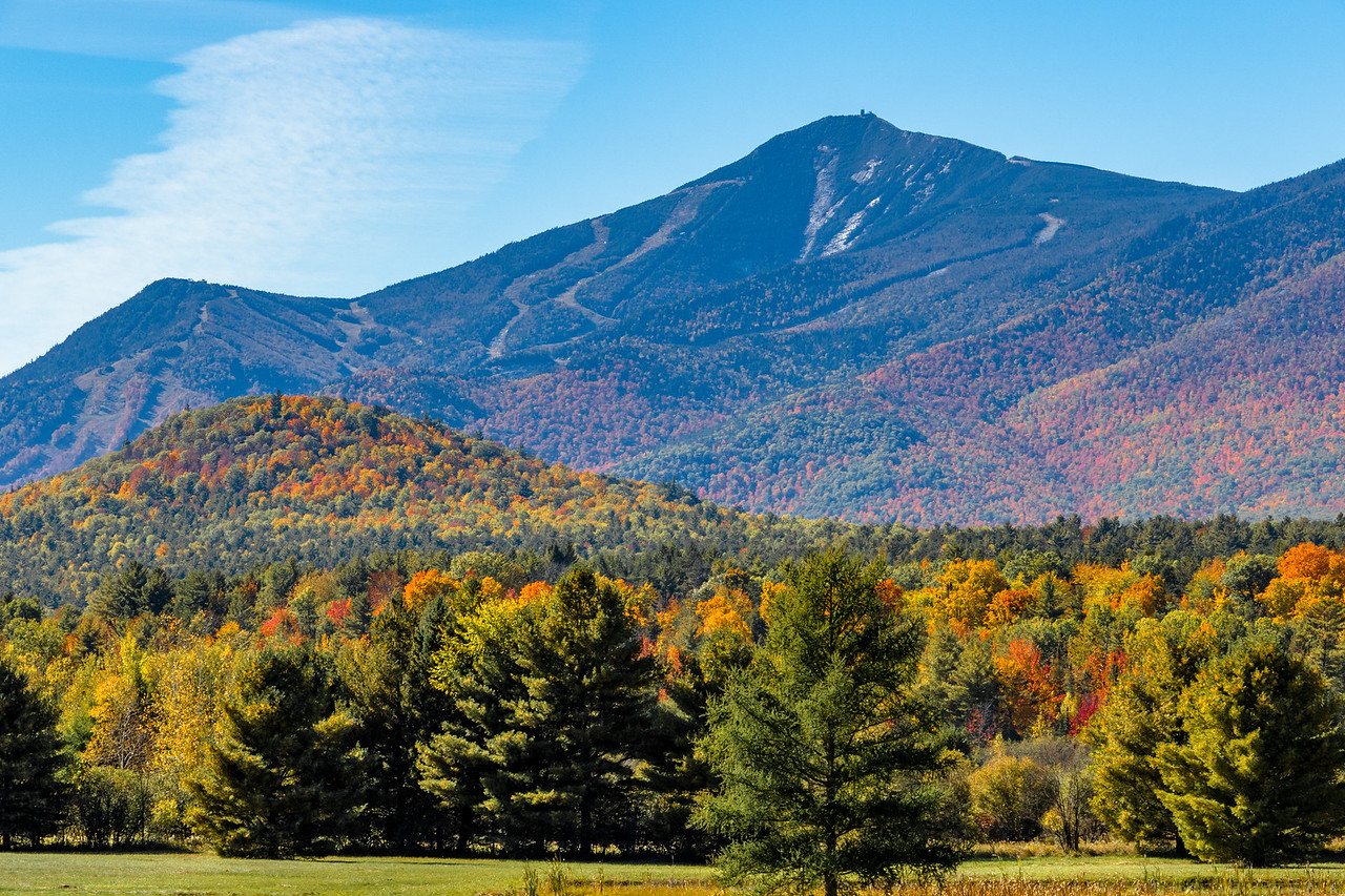 Fall Scenery at Whiteface Mountain