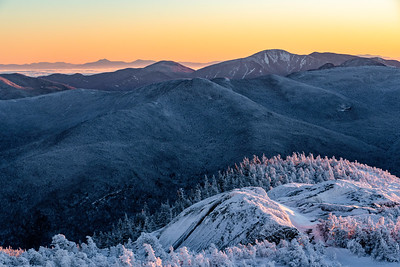 Winter Sunrise from Wright Peak