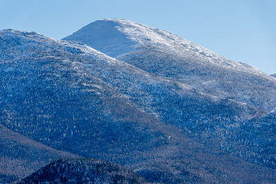 Algonquin Peak capped in snow