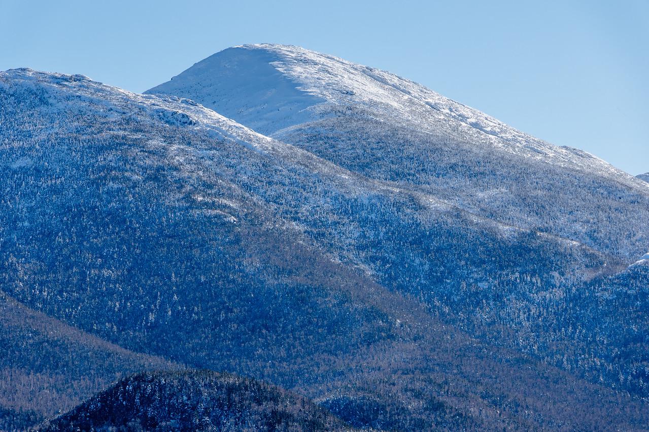 Algonquin Peak capped in snow