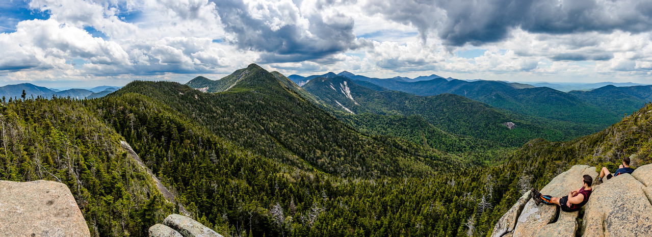 Panorama from Summit of Gothics Peak