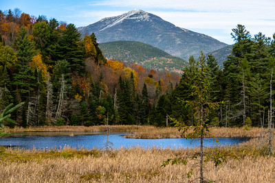 Snow capped Whiteface Mt.