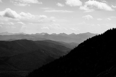 High Peaks from Whiteface Mt.