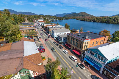 Saturday in Downtown Lake Placid, NY