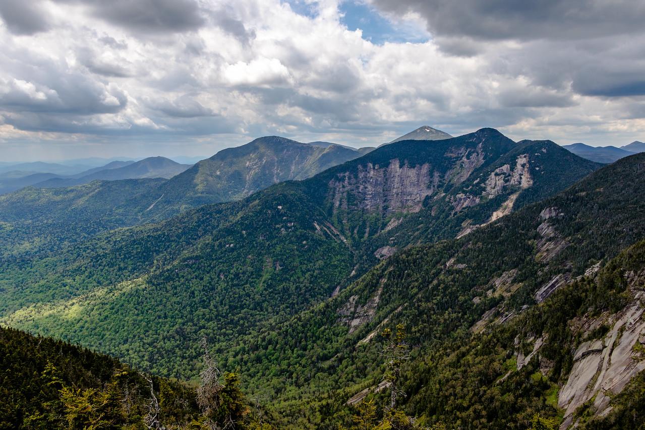 High Peaks seen from Pyramid Peak.