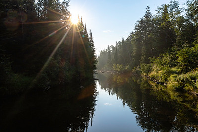Morning on the East Ausable Branch River