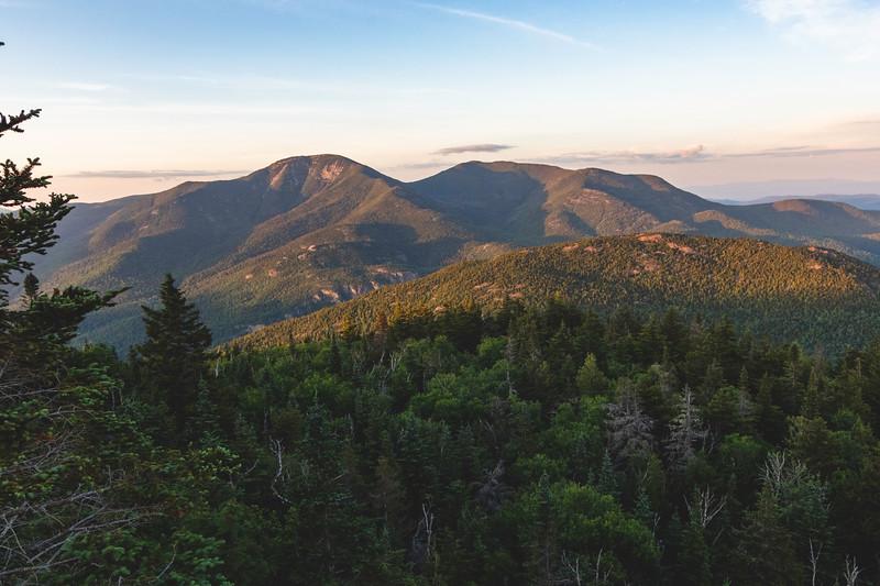 Giant Mt. and Rocky Peak Ridge Sunset