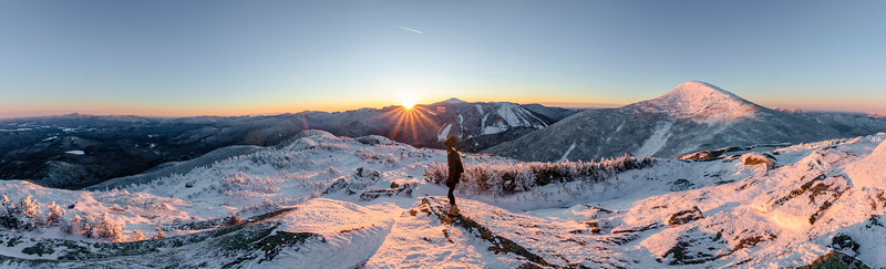 Wright Peak Sunrise Panorama