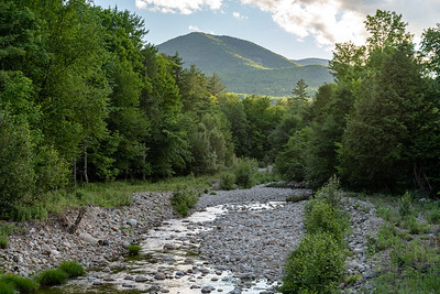 Roaring Brook with Bald Mt. in the Distance