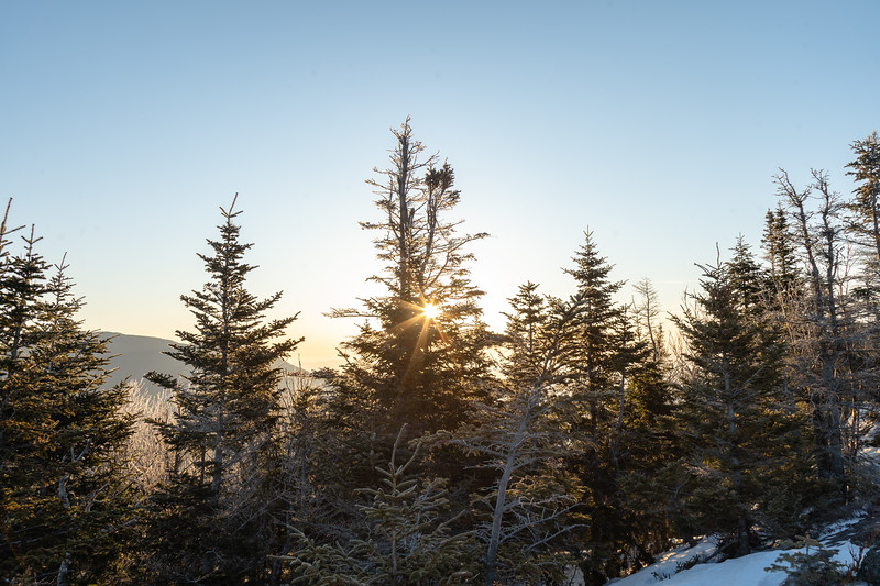 Sunrise from Noonmark Mt.