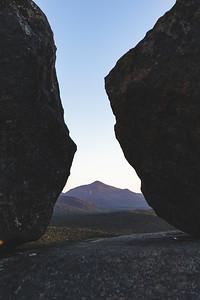 Algonquin Peak seen through Balanced Rock