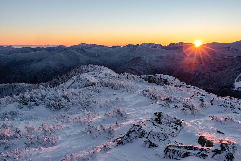 Sunrise from Wright Peak