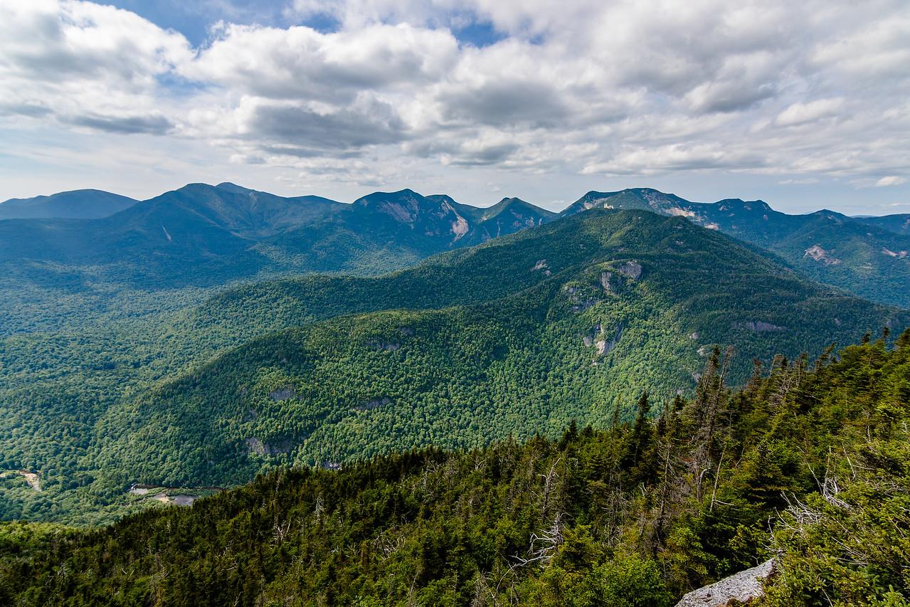Great Range High Peaks from Mt. Colvin