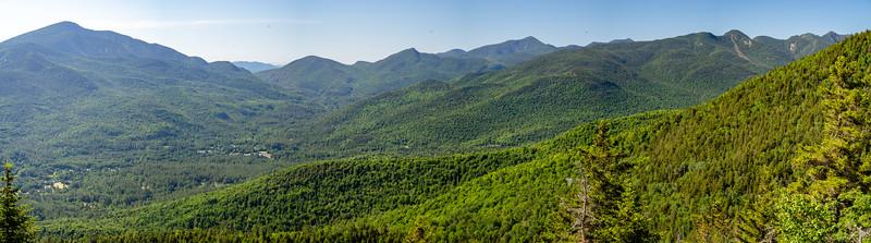 Giant, Dix & Great Range Panorama