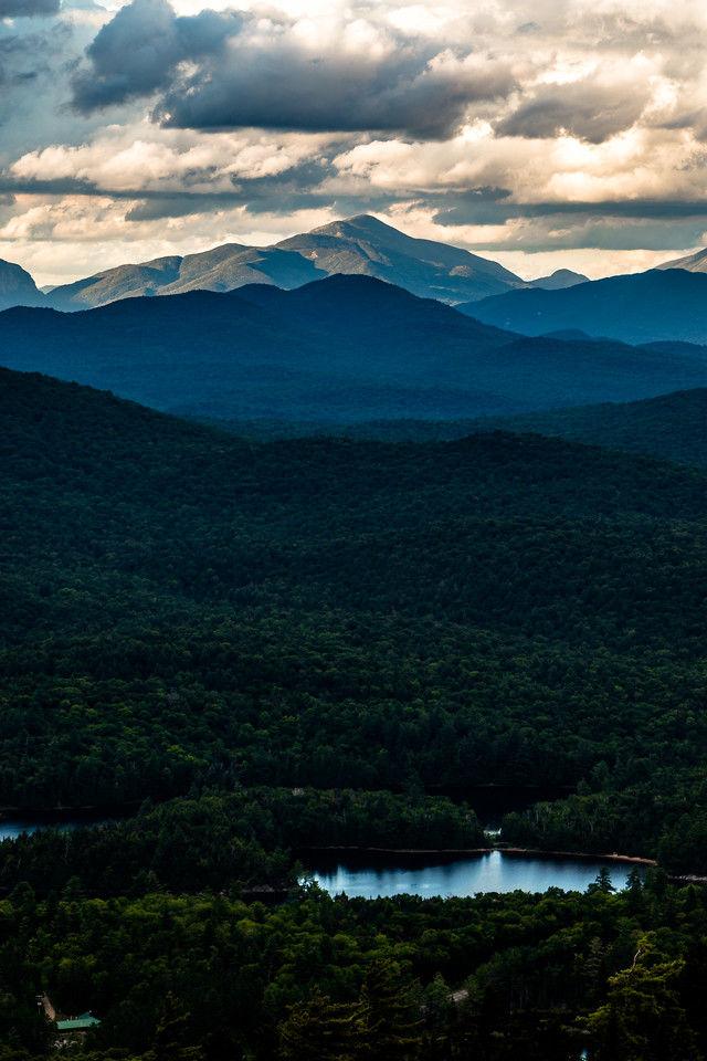 Late Summer Afternoon on Algonquin Peak
